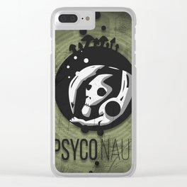 phyco-naught Clear iPhone Case