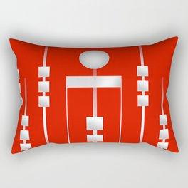 Red 11 Rectangular Pillow