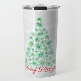 Merry & Bright Travel Mug