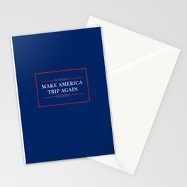 Make America Trip Again - Psychedelic, Weed, Mushroom, LSD Stationery Cards