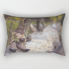 Wood Elf III Rectangular Pillow