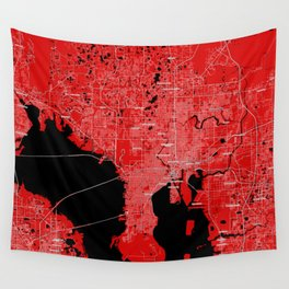 FanMap   NFL Tampa Bay #02 Wall Tapestry