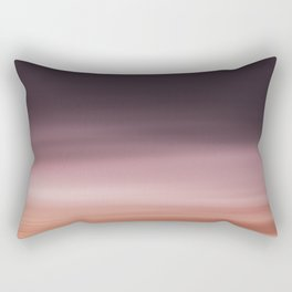 Landscape red (moving) Rectangular Pillow