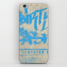 DIRTY CASH - TAGGING STREETART MIAMI by Jay Hops iPhone Skin
