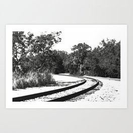 Around The Bend II Art Print