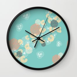 Cockles and Mussels Wall Clock