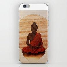 Buddha marquetry iPhone & iPod Skin