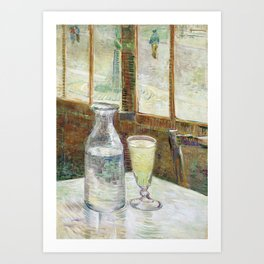 Vincent Van Gogh - Cafe Table with Absinth Art Print