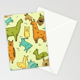 Llots of Llamas Stationery Cards