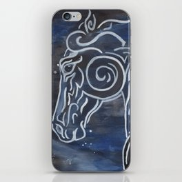 Horse and Stardust iPhone Skin