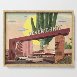 Desert Inn Serving Tray