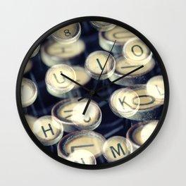 key art Wall Clock