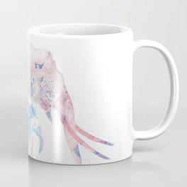 Digital Painting of Two Elephants Coffee Mug