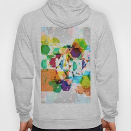 Colorful hexagon pattern 2 Hoody