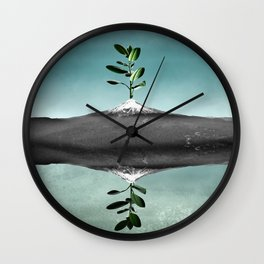 Dramatic scenario Wall Clock
