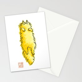 Fluffy Flop Cat Stationery Cards