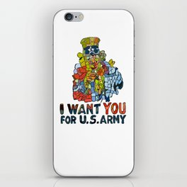 I want you for U.S Army iPhone Skin