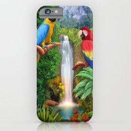 Macaw Tropical Parrots iPhone Case