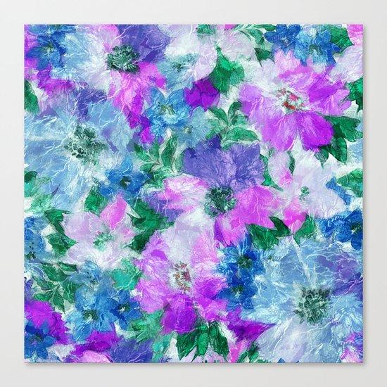 Splendid Flowers 3 Canvas Print