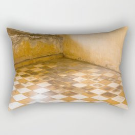 S21 Blood Stains - KhmerRouge, Cambodia Rectangular Pillow