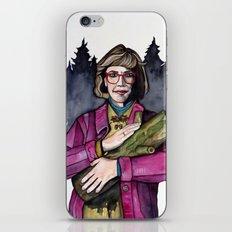 Twin Peaks Log Lady iPhone & iPod Skin