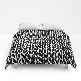 Hand Knit Zoom Comforters