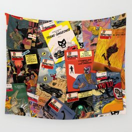 Les Aventures d'El Spectro Wall Tapestry
