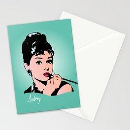 Audrey Hepburn - Tiffany - Pop Art Stationery Cards