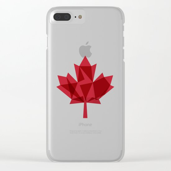 O Canada Clear iPhone Case