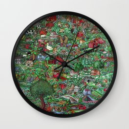 The Farm Wall Clock