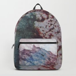 """Old grunge wall"" Backpack"
