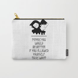 Quote from Persona 1966 Movie Carry-All Pouch