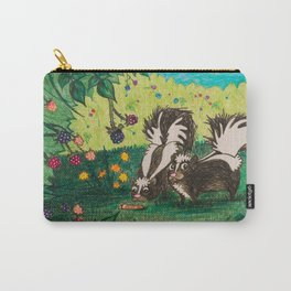 Skunk Picnic Carry-All Pouch