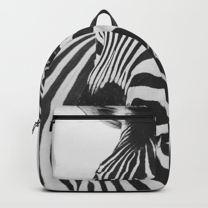 The Thoughtful Zebra Backpack
