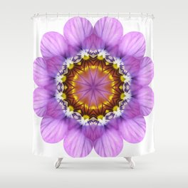 Pretty Pansy Florii Shower Curtain
