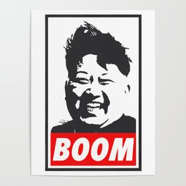 Boom (Kim Jong Un) Poster