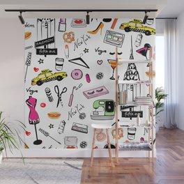New York Fashion Wall Mural