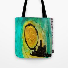 Man Of The City Tote Bag