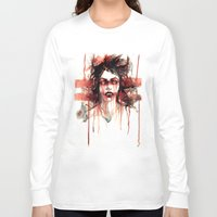 vampire diaries Long Sleeve T-shirts featuring VAMPIRE by AkiMao