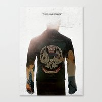 True Detective - Who Goes There Canvas Print
