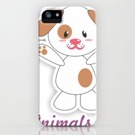 Dog Animals Cute iPhone Case