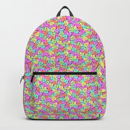 Fuck, I love conversation hearts. Backpack