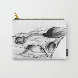Snapping Turtle Skull Carry-All Pouch
