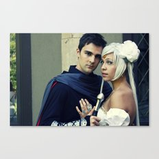 Sailor Moon - Prince Endymion and Princess Serenity Canvas Print