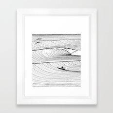 Solo Session Framed Art Print