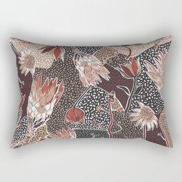 Australian native flower pattern Rectangular Pillow