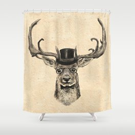 Mr Deer Shower Curtain