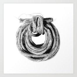 Rope Coil Art Print