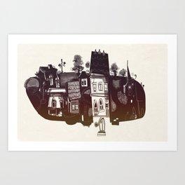 Borough Art Print