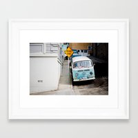 hippie Framed Art Prints featuring Hippie by Lindsey Yeo